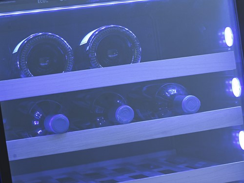 Blauwe verlichting (28 LED SideLight & 2 TopLight)