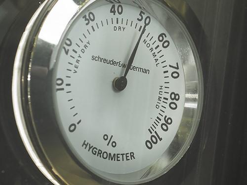 Hygrometer (wit)