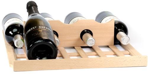 Wijn toonplankje voor op lade