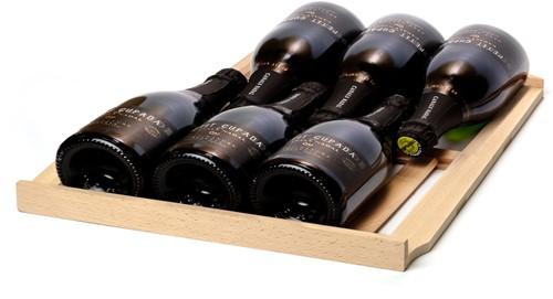 Beukenhouten wijnlade voor Bourgogne/Champagne (Quintin, Rabutin)