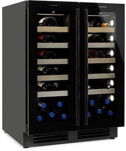 Wijnklimaatkast Esclimont Duo (Black Edition)